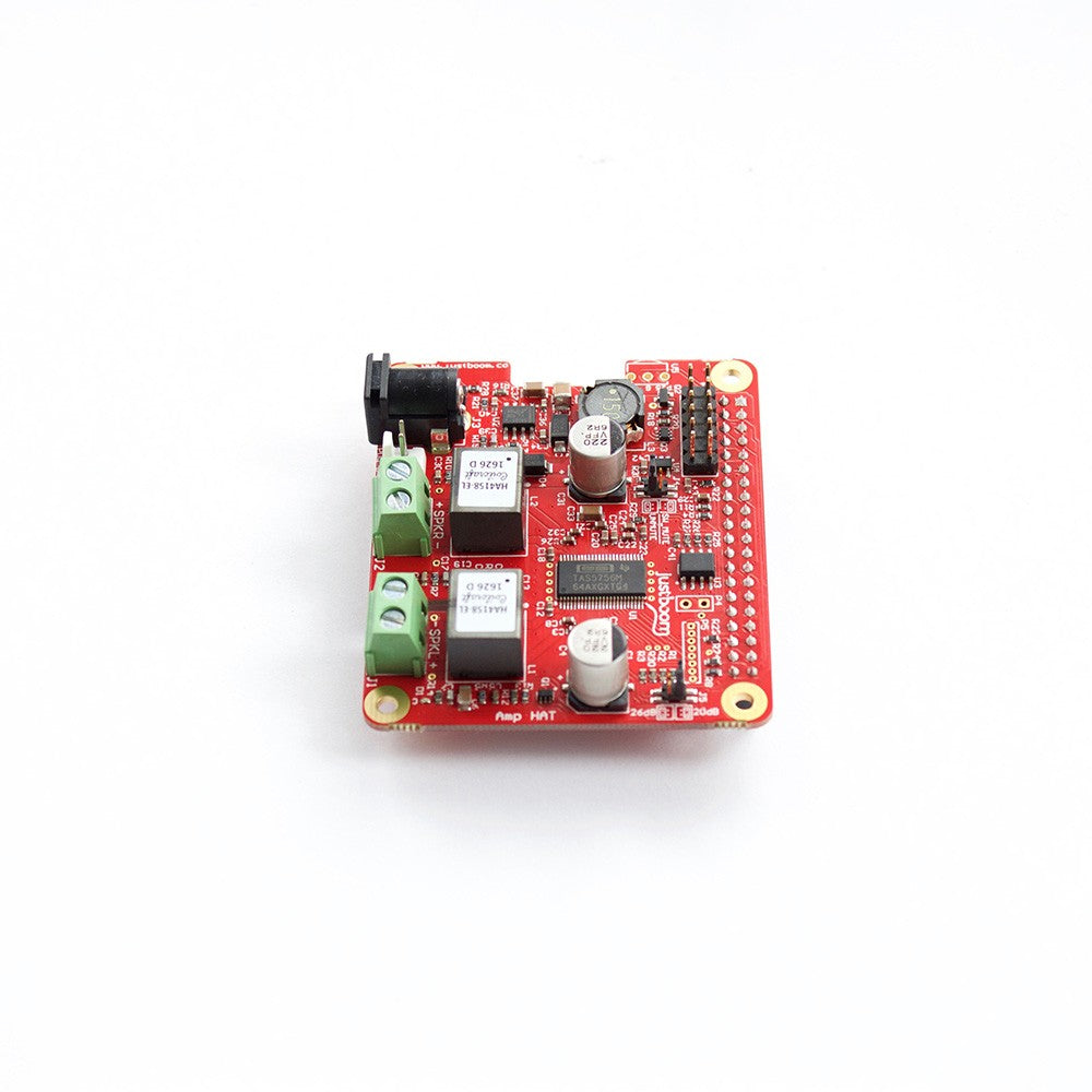 Justboom Amp Hat For The Raspberry Pi Supply 3 W Class D Amplifier With Smart Gain