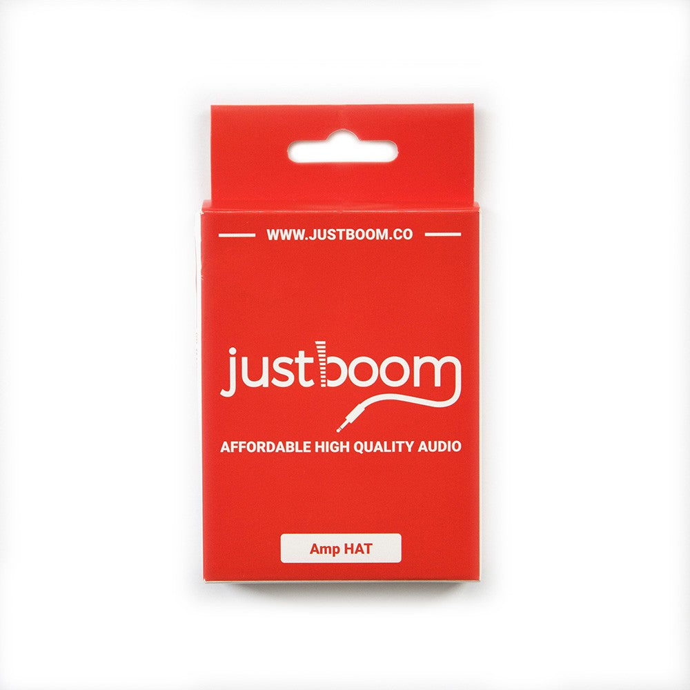 JustBoom Amp HAT Packaging