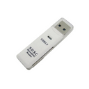 Super Speed 5Gbps USB 3.0 Micro SD TF Card Reader Adapter White