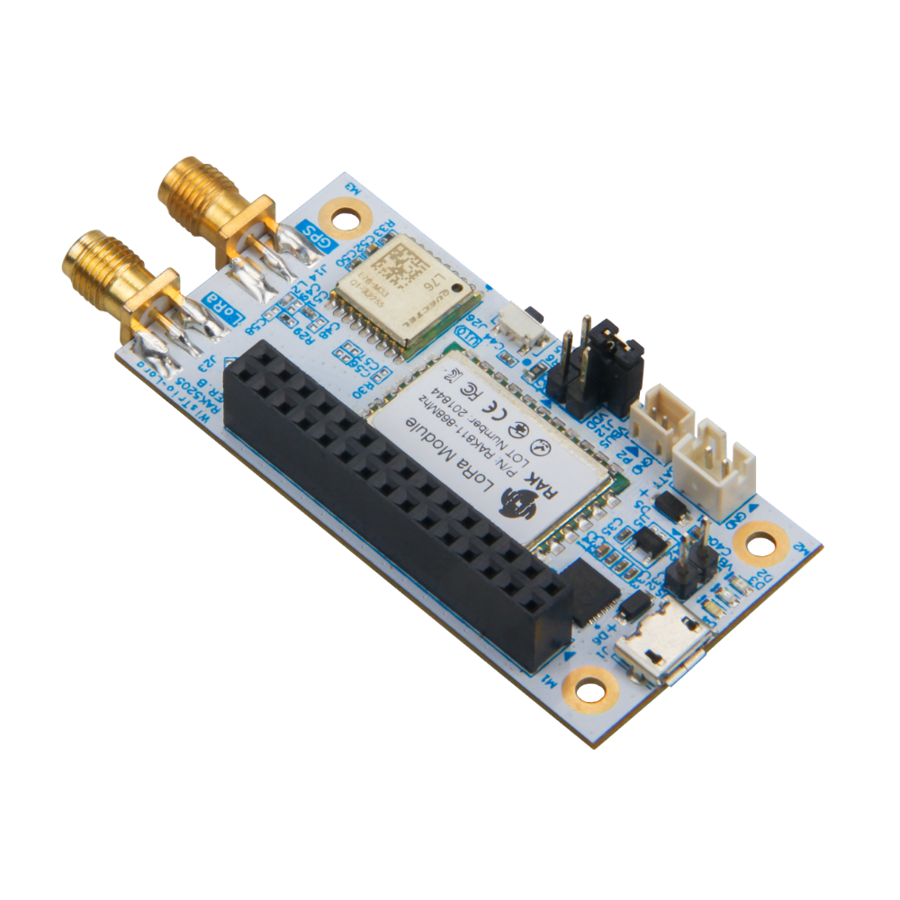 WisTrio LoRa Tracker RAK5205 is built on SX1276 LoRaWAN modem with low power micro-controller STM32L1 with GPS module