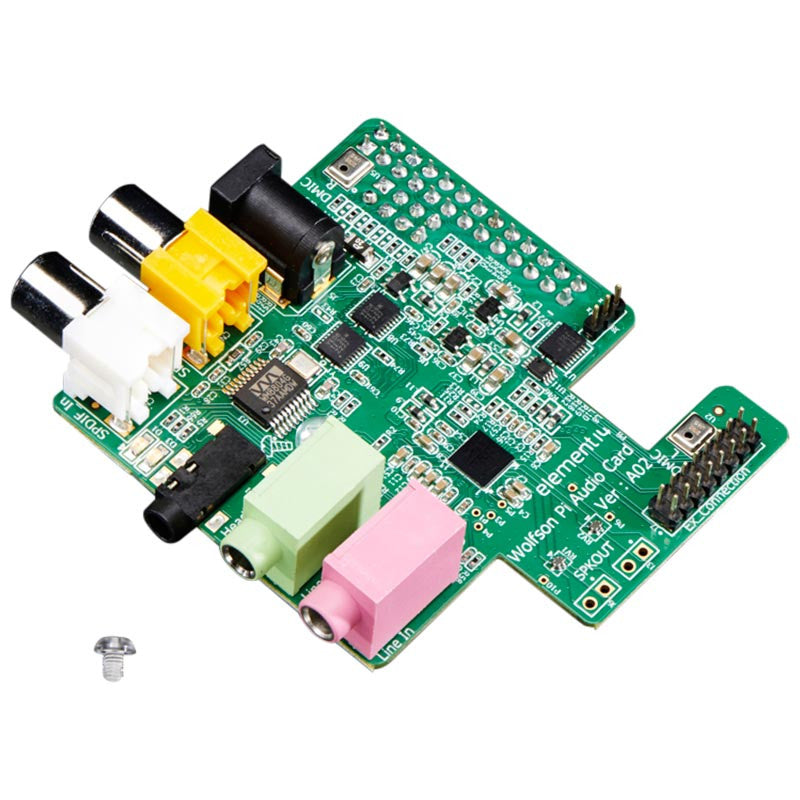 wolfson raspberry pi audio card pi supply. Black Bedroom Furniture Sets. Home Design Ideas