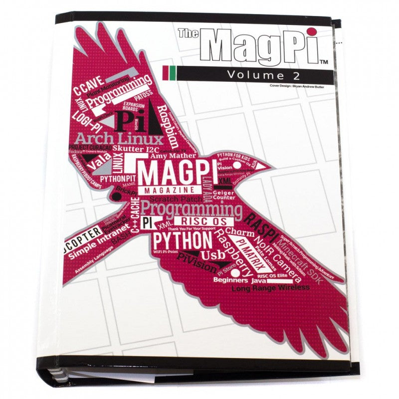 The MagPi Volume 2 Binder