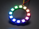 Adafruit NeoPixel Ring - 12 Pixel (Side View)