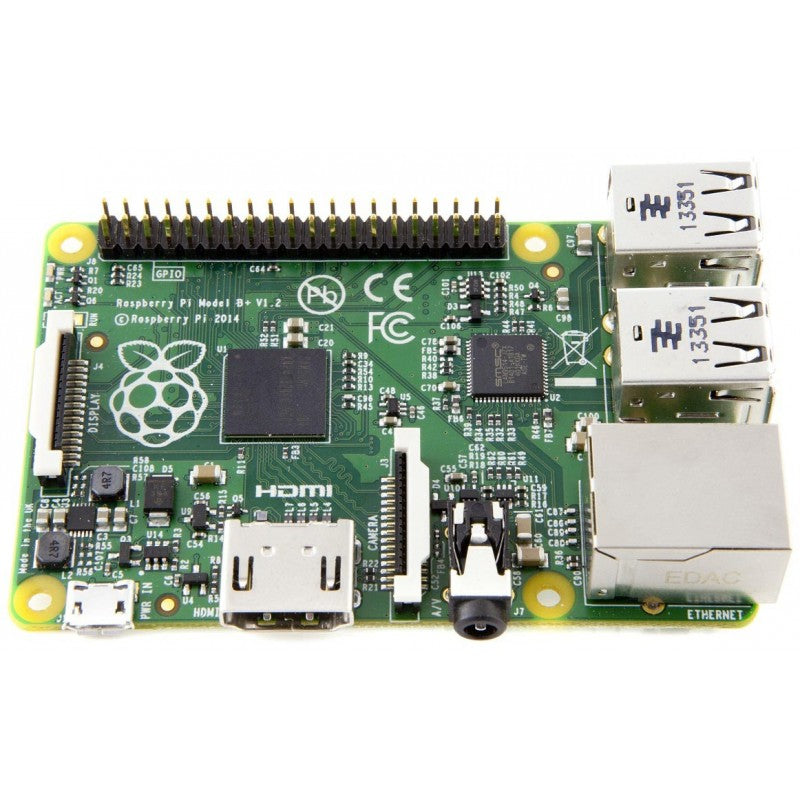 Raspberry Pi Model B+ Top View 2