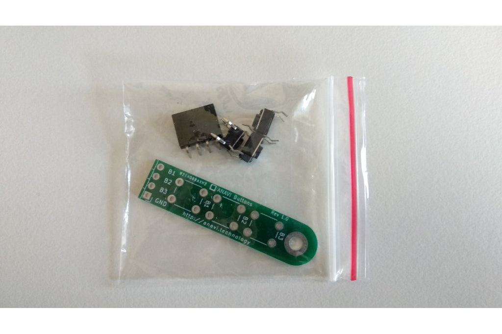 ANAVI Buttons Soldering Kit