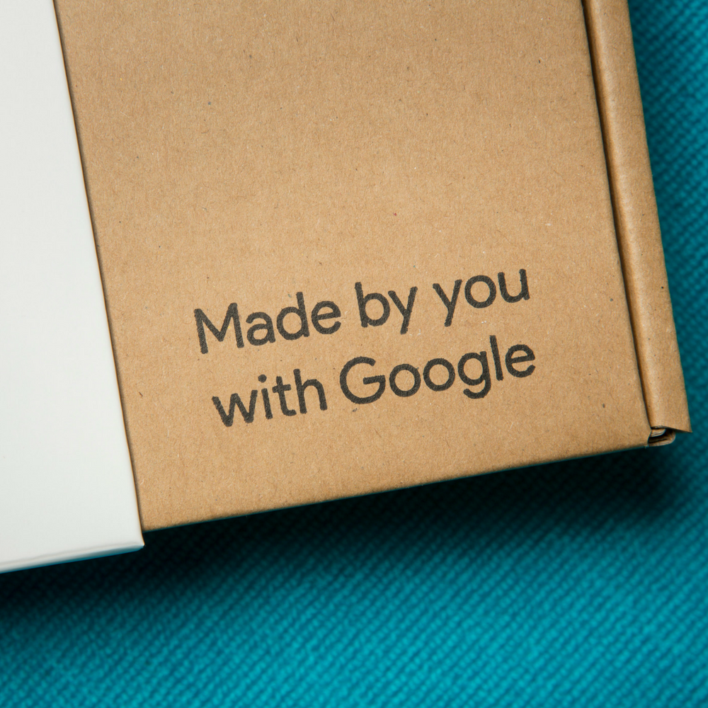 Google AIY Voice Kit packaging