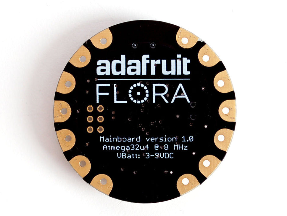 Adafruit FLORA Bottom