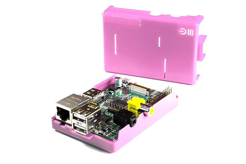 Pink Raspberry Pi Case