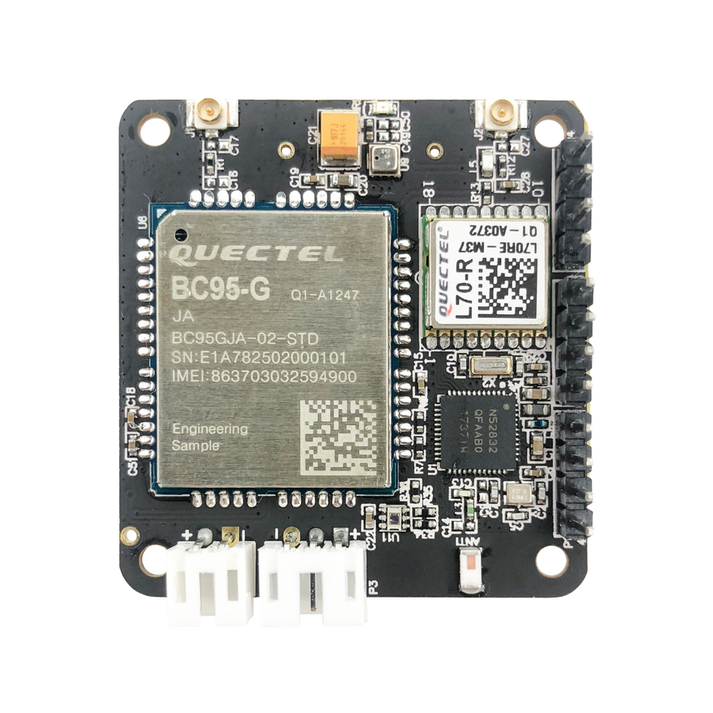 RAK8211-NB iTracker NB-IoT Tracker Module (BC95 and nRF52832 based) with  NBIoT, BLE 5, GPS and Sensors - supports global cellular bands