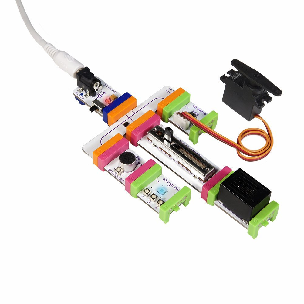 littleBits Deluxe Kit Circuit Example
