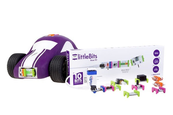littleBits Base Kit w/Car (not included)