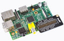 RasPiO Labels Board on Pi