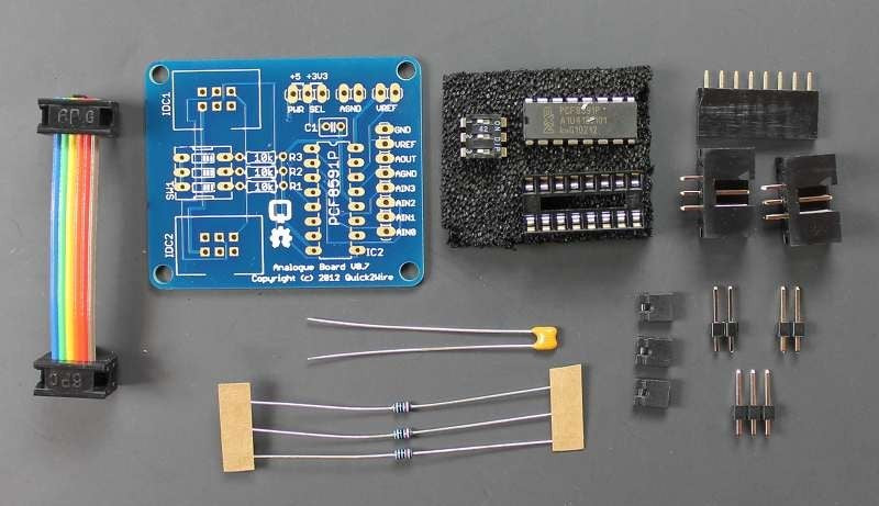 Quick2Wire Raspberry Pi Analogue Board Kit