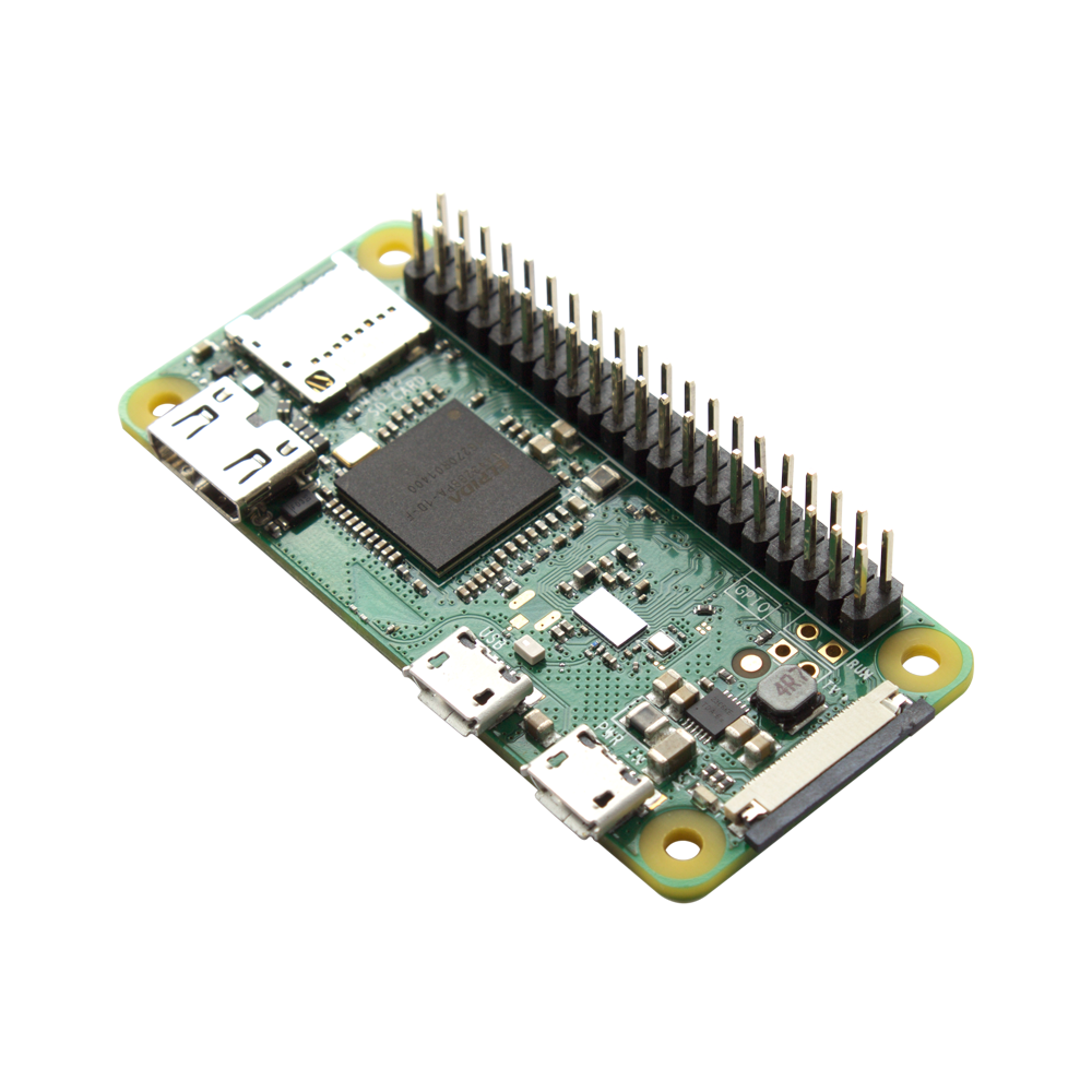 Pi Zero W with header
