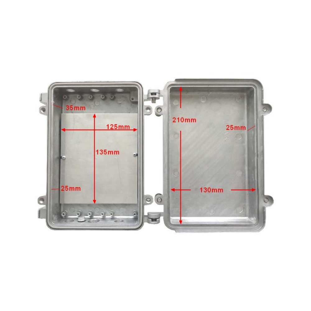 Die Cast Outdoor Weatherproof Enclosure