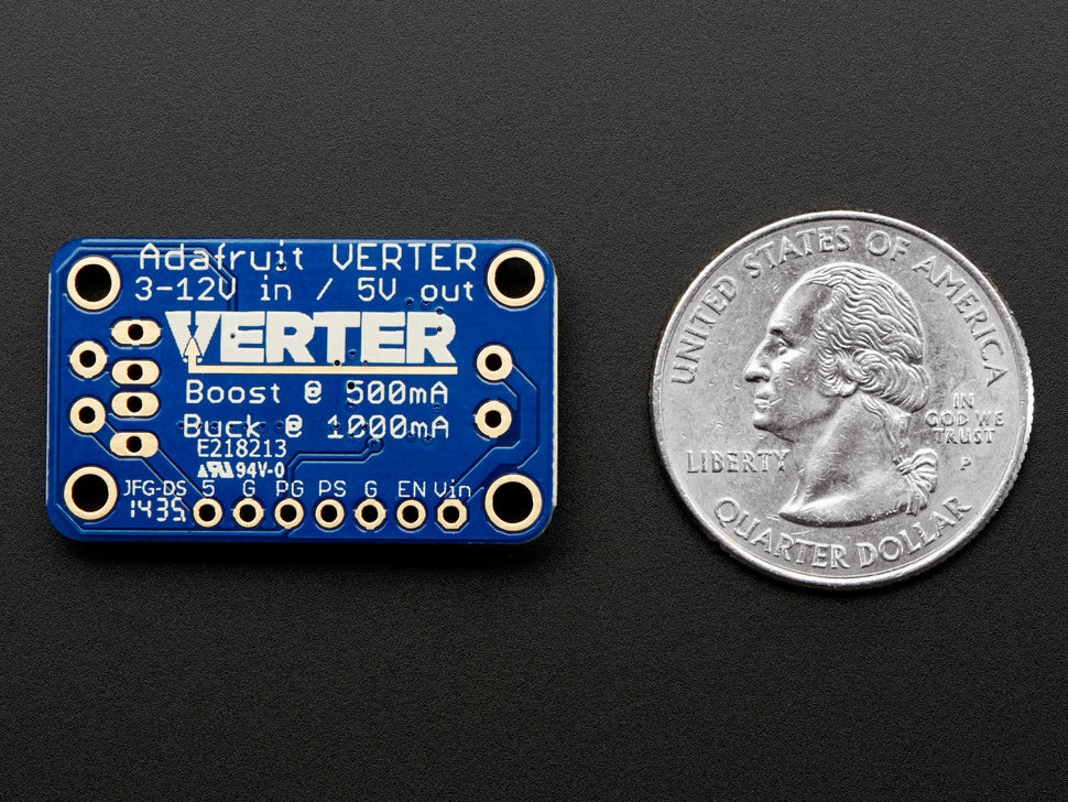 Adafruit VERTER 5V (Bottom View)