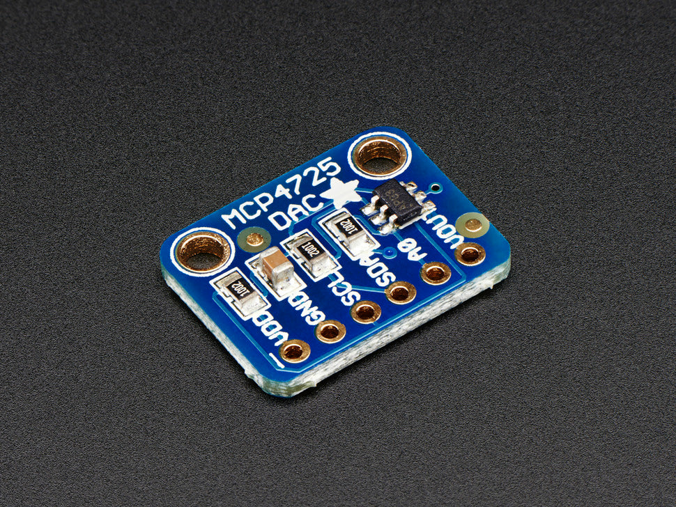 Adafruit 12-Bit DAC Interface