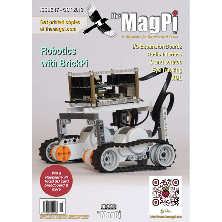 Issue 17 of The MagPi Magazine