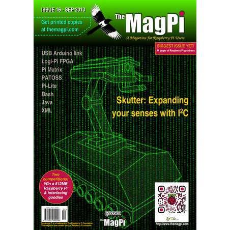 Issue 16 of The MagPi Magazine