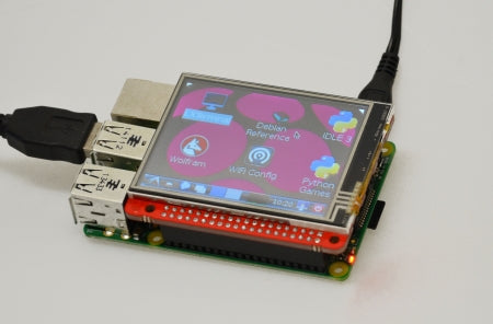 Raspberry Pi Model B+ Display