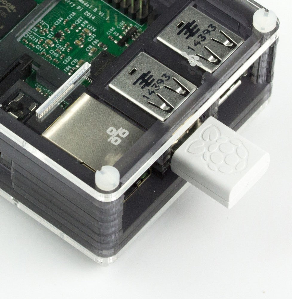 Raspberry Pi WiFi Dongle Installed