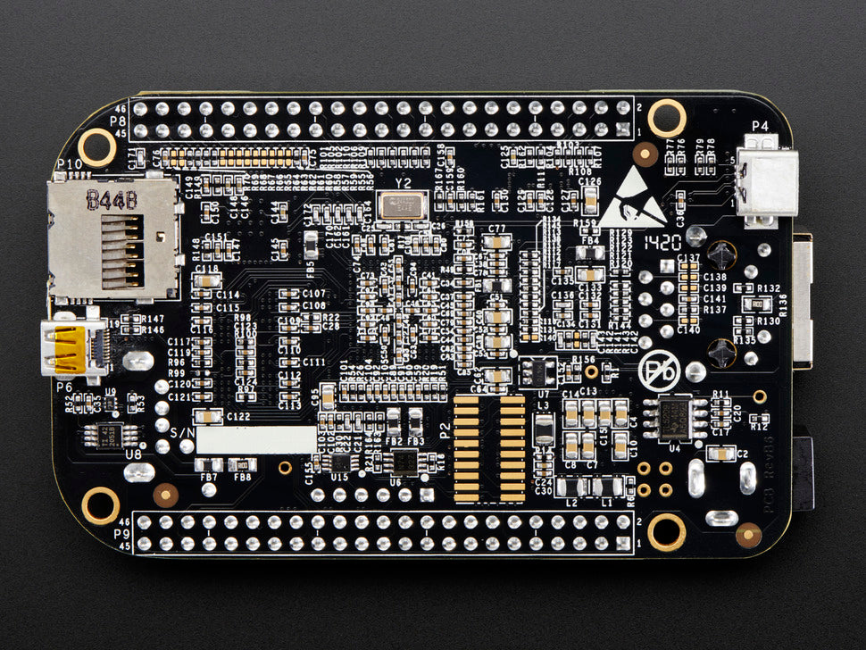 BeagleBone Black Rev C Bottom