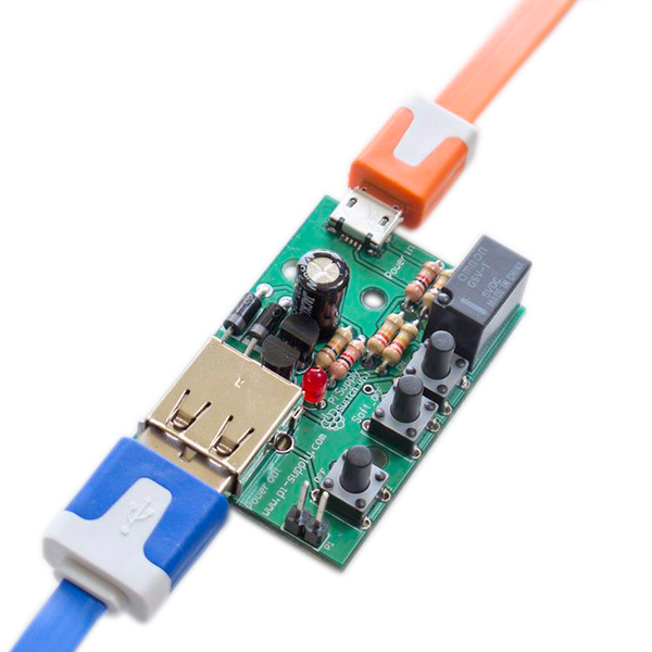 Pi Supply Switch On Off Power Switch For Raspberry Pi