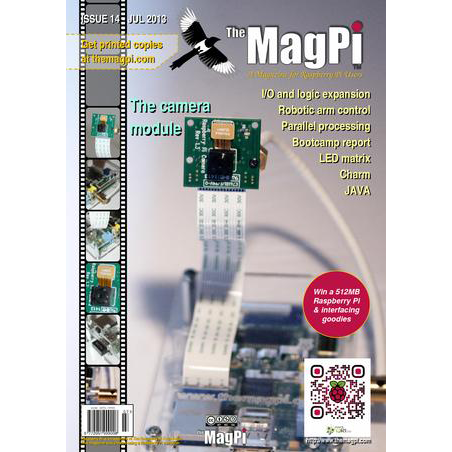 Issue 14 of The MagPi Magazine