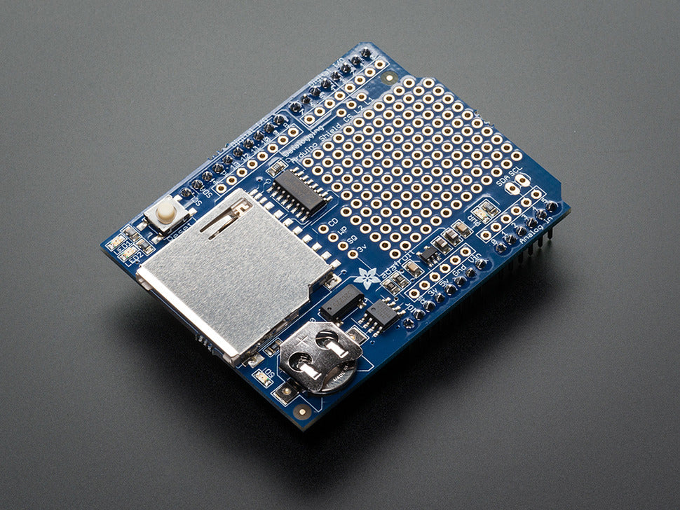 Assembled Data Logging Shield Board
