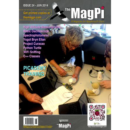 Issue 24 of The MagPi Magazine