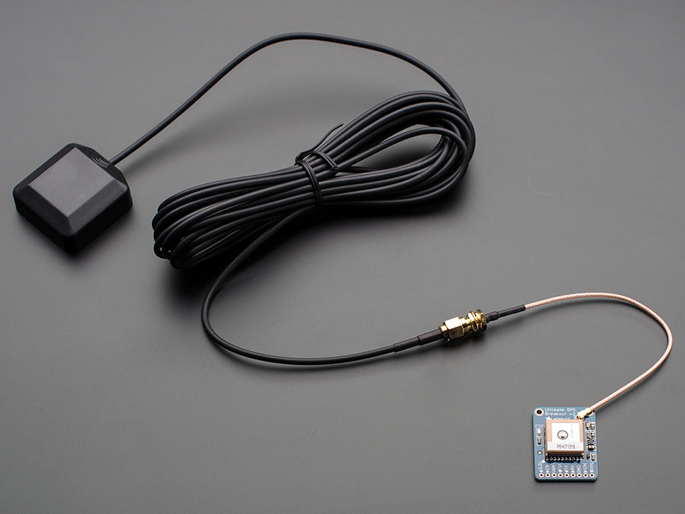 Adafruit Ultimate GPS Breakout w/Cables (not included)