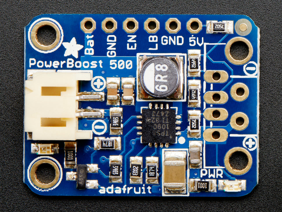PowerBoost 500 Basic (Top View)