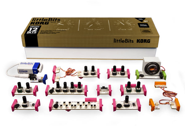 littleBits Synth Kit Parts