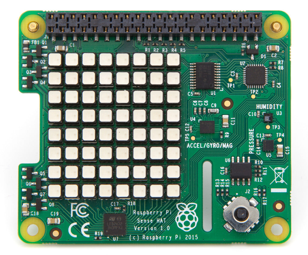 Raspberry Pi Sense HAT (Top)