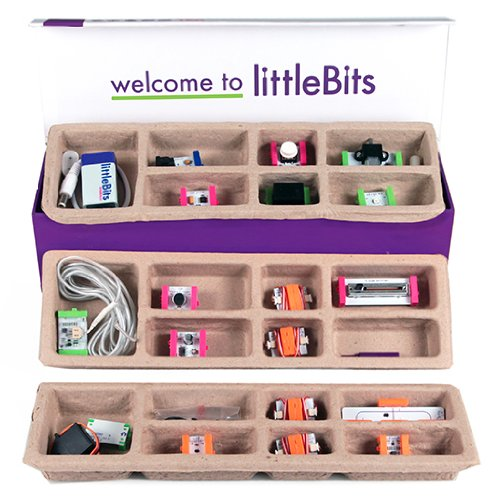 What's inside the littleBits Deluxe Kit