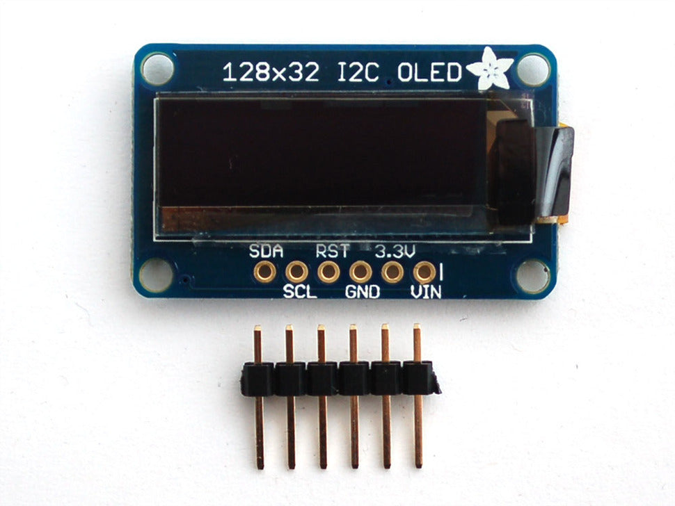 Adafruit Monochrome 128x32 I2C OLED Display