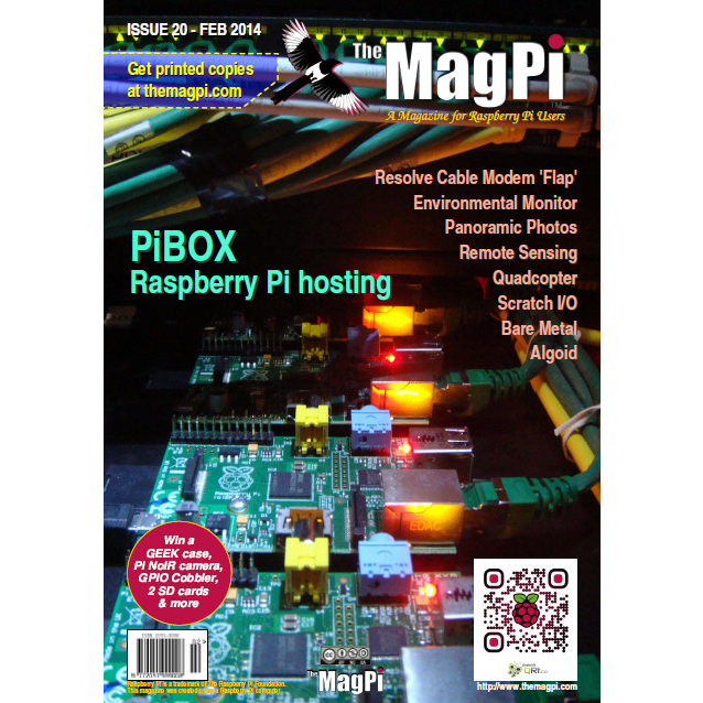 Issue 20 of The MagPi Magazine