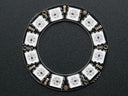 Adafruit NeoPixel Ring - 12 Pixel (Top View)