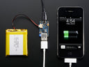Adafruit PowerBoost 500 Charger w/Battery and Smartphone
