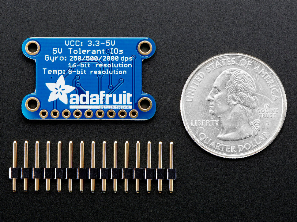 Adafruit L3GD20H Triple-Axis Gyro Board with Parts