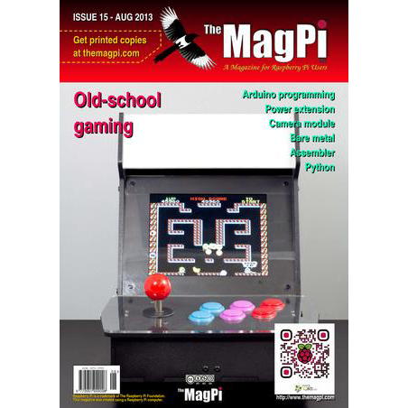 Issue 15 of The MagPi Magazine