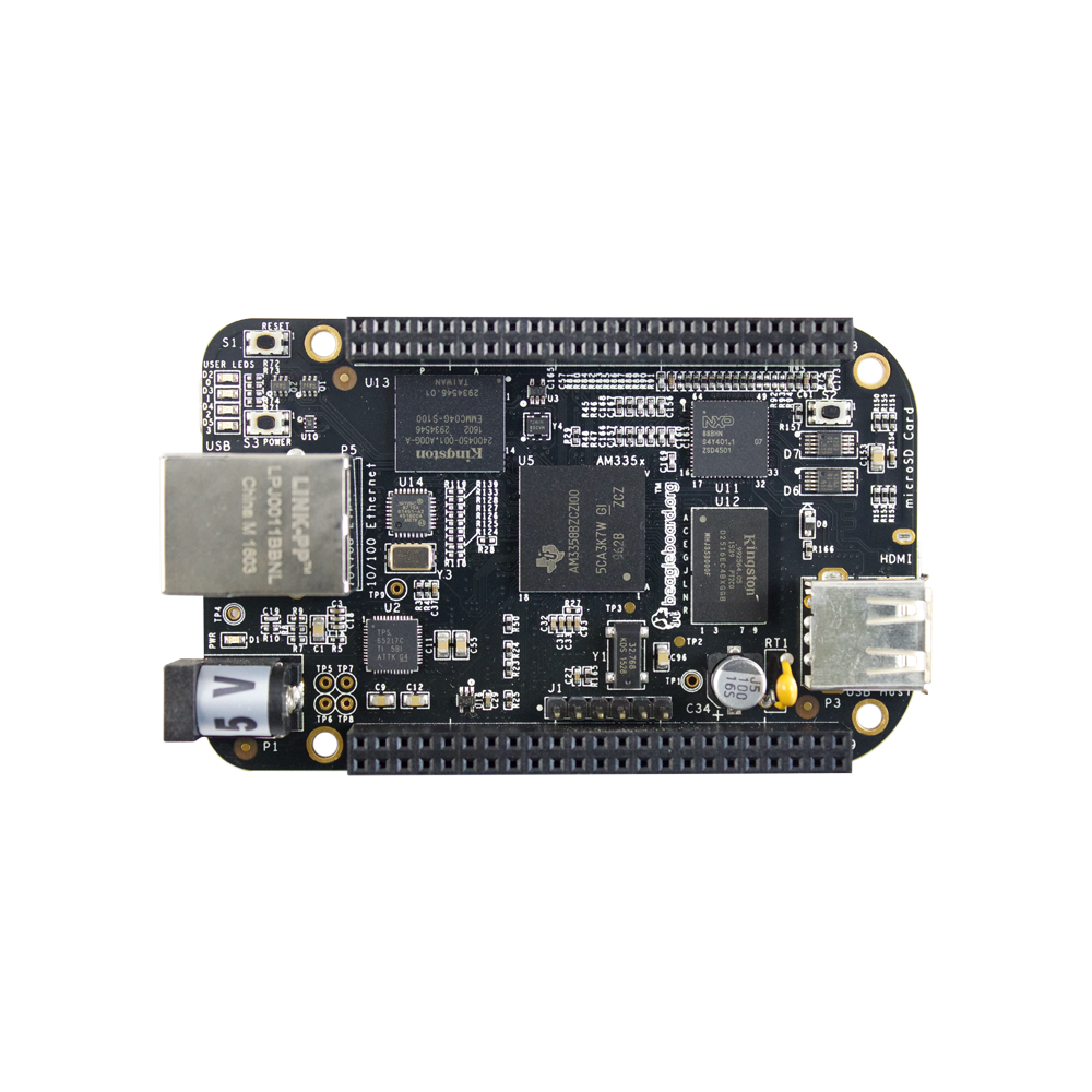 Element 14 BeagleBone Black Rev C - 4GB - Pre-installed Debian - Element 14 Version