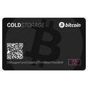 Bitcoin Cold Storage Card (Black)