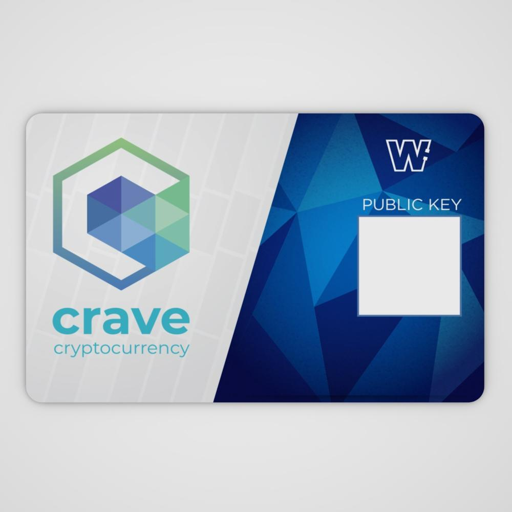 Crave Cold Storage Card (Listello Edition)