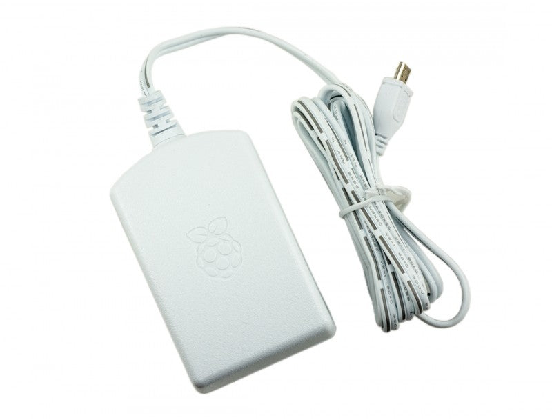 Official Raspberry Pi Power Supply - 2.5A International Power Supply Unit