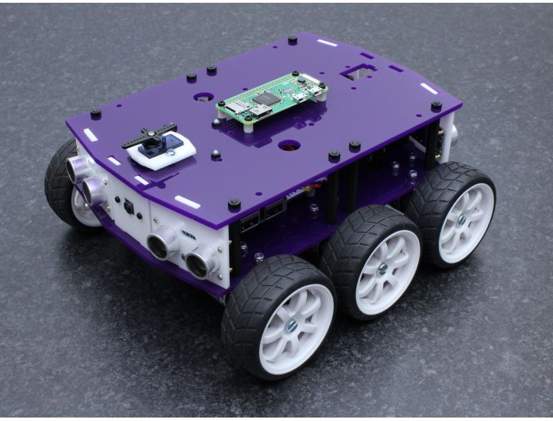 DiddyBorg V2 Multifunction Top Kit with Raspberry Pi Zero