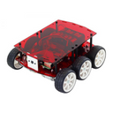 DiddyBorg V2 Raspberry Pi Robot Kit - Red Edition
