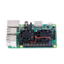 Dual Cooling Fan with Heatsink For Raspberry Pi 2/3 Model B/B+/NESPi+