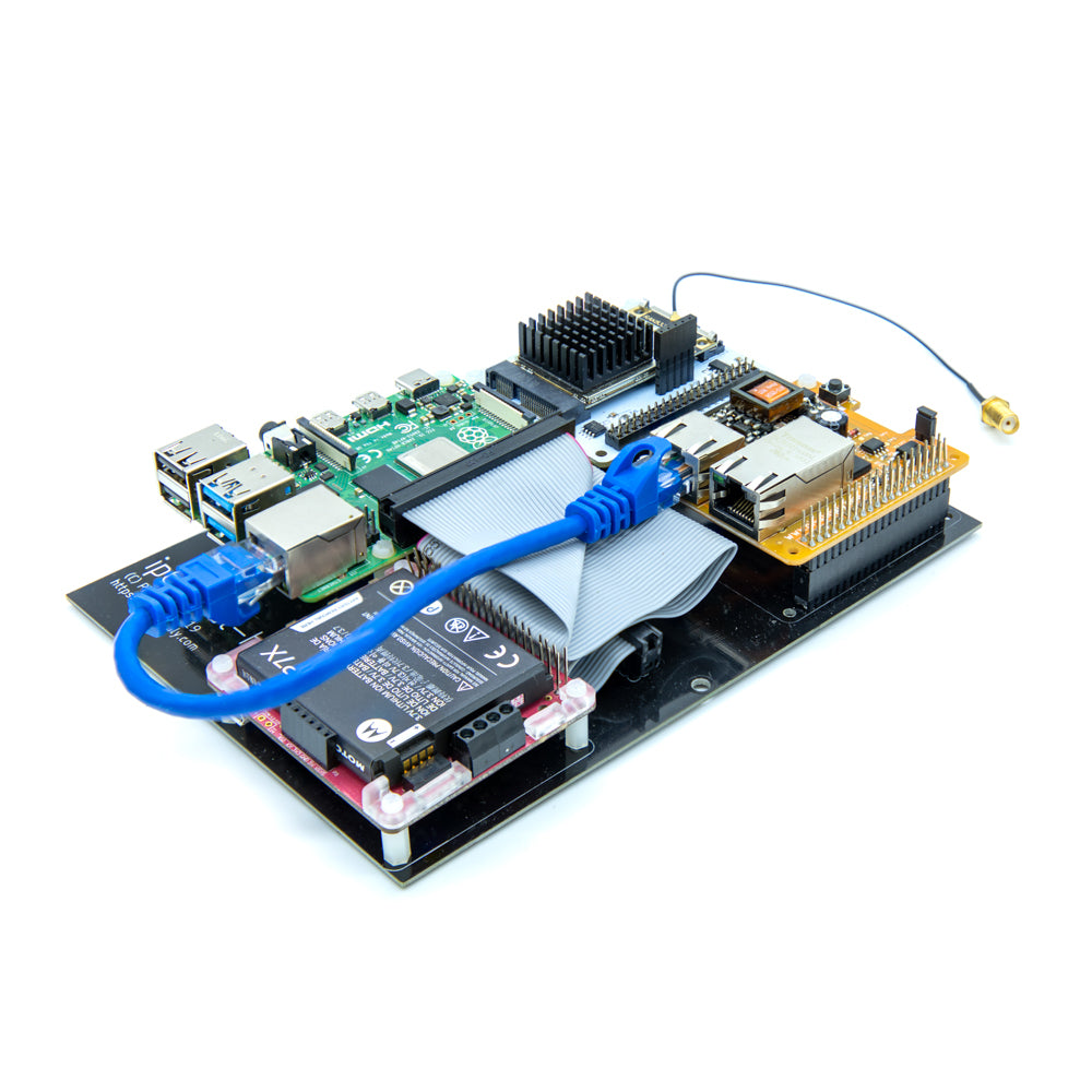 Nebra IP67 Case - Gateway HAT Mounting and Raspberry Pi Expansion Board