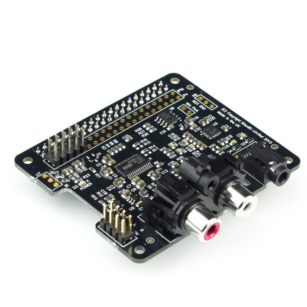 IQaudio Pi-DAC+ Raspberry Pi Audio HAT
